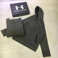 Under Armour Woman Men Fashion Hoodie Top Sweater Pullover