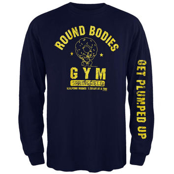 Simpsons - Round Bodies Long Sleeve T-Shirt