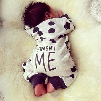 Newborn Baby Boy Girl Jumpsuits Infant Baby Boy Girl Warm Cotton Outfit Jumpsuit O-Neck Long Sleeve Jumpsuits Baby Clothes