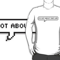 Danisnotonfire Quote Tee '' Not about that life ''