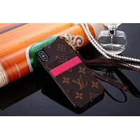 Louis Vuitton LV Fashion iPhone Phone Cover Case For iphone 6 6s 6plus 6s-plus 7 7plus 8 8plus X