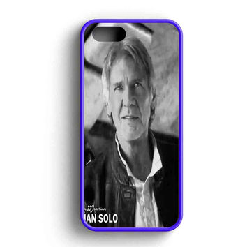 Star Wars The Force Awakens Han Solo In Memoriam iPhone 5 Case iPhone 5s Case iPhone 5c Case