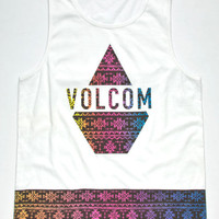 Volcom Cmyk Mens Tank White  In Sizes
