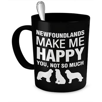 Newfoundlands Make Me Happy