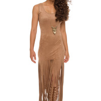 Shania Fringe Dress