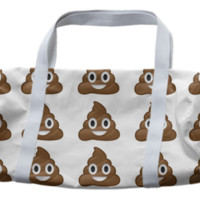 poop duffle bag created by GossipRag | Print All Over Me