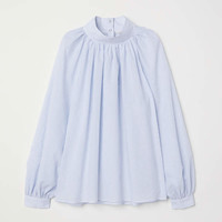 H&M Balloon-sleeved Blouse $49.99