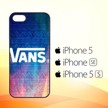 Vans Aztec Pattern J0201  iPhone 5|5S|SE Case