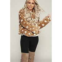 Stars Only Jacket (Camel)