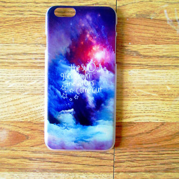 Glad You Came Abstract (Apple iPhone 6 and 6S Hard Case)