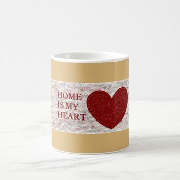 """Home is my Heart"" Classic Mug"