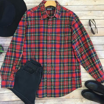 Love Intersection Vintage Flannel