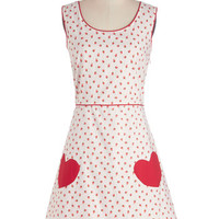 ModCloth Fruits Mid-length Sleeveless A-line As Swoon As Possible Dress