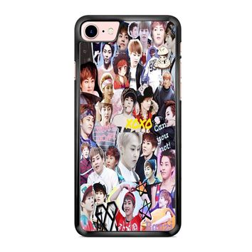 Exo Xiumin Collage iPhone 7 Case