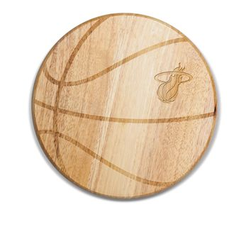 Miami Heat - 'Free Throw' Basketball Cutting Board & Serving Tray by Picnic Time