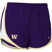 Nike Washington Huskies Purple Ladies Tempo Shorts