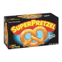SuperPretzel Baked Soft Pretzels 6-ct.