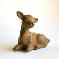 Solid Chocolate Deer Baby Fawn by Andie's by andiespecialtysweets