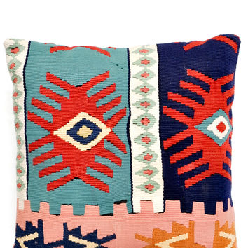 "16"" Kilim Pillow, Magic Eye"
