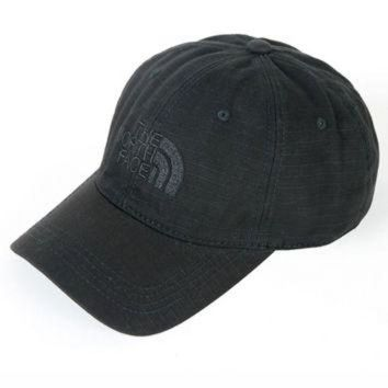ONETOW Black The North Face Embroidered Baseball Cap Hat