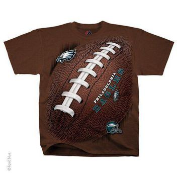 New PHILADELPHIA EAGLES  Tie Dye T Shirt NFL LICENSED APPAREL FOOTBALL KICK OFF