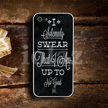 quote i solemnly swear Design mobile Phone case