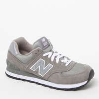 New Balance 574 Core Running Sneakers - Womens Shoes - Gray