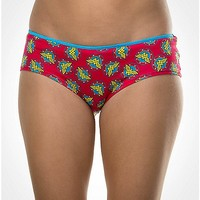 Wonder Woman Red Logo Panty - Spencer's