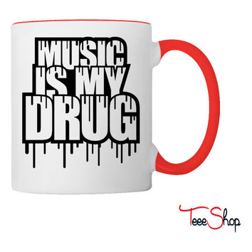 Music Is My Lifed Coffee & Tea Mug