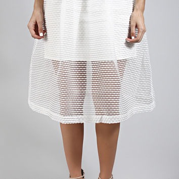 purely yours pleat skirt