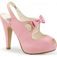 BETTIE-03 | Pink Faux Leather [PREORDER]