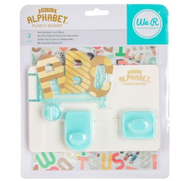 Mini Alphabet Punch Board | Hobby Lobby | 1422393