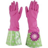 Boston Warehouse Glamour Glove Set, Pink