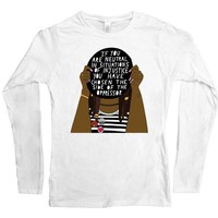 If You Are Neutral In Situations Of Injustice... -- Women's Long-Sleeve