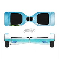 The Paradise Beach Palm Tree Full-Body Skin Set for the Smart Drifting SuperCharged iiRov HoverBoard