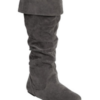 Faux Suede Foldover Boot | Shop Gifts Under $30 at Wet Seal