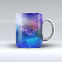 The Space Light Rays ink-Fuzed Ceramic Coffee Mug