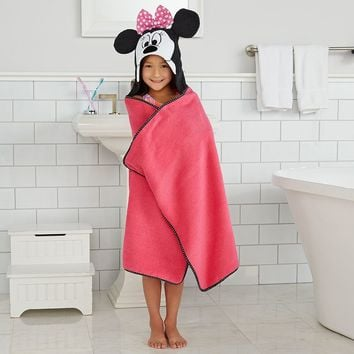 Disney's Minnie Mouse Bath Wrap by Jumping Beans (Pink)