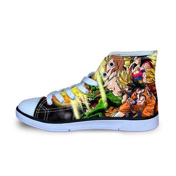 Dragon Ball Z High Top Shoes Goku Style 10