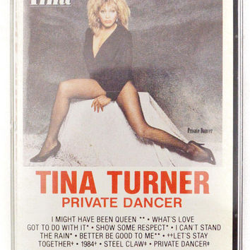 Vintage 80s Tina Turner Private Dancer Pop Rock Album Cassette Tape
