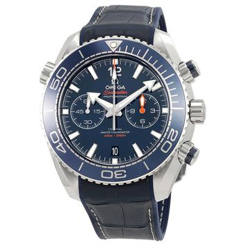 Omega Seamaster Planet Ocean Chronograph Automatic Mens Watch 215.33.46.51.03.00