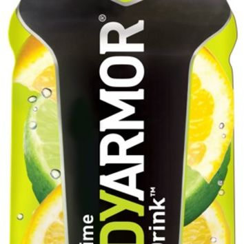 Body Armor Lemon Lime Sports Drink 16 oz Bottles - Case of 12