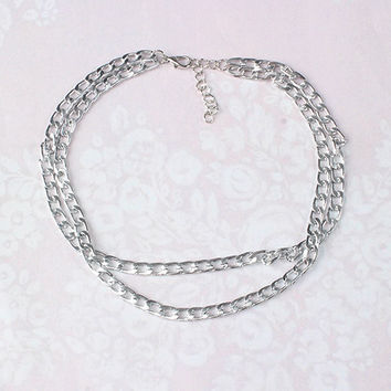 Royalty Short Chain Link Necklace