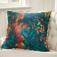 Leyton Floral Print Pillow Cover