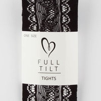 FULL TILT Scallop Open Lace Womens Tights | Tights