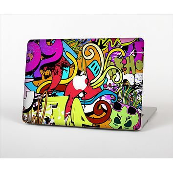 "The Vibrant Colored Vector Graffiti Skin Set for the Apple MacBook Pro 15"" with Retina Display"