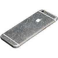 FAS1 Crystal Diamond Sparkling Body Bling Glitter Sticker Skin Film Case For Apple iphone 6 4.7 (Silver)