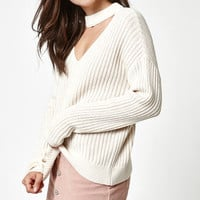 Bella Choker Pullover Sweater