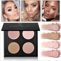 Multifunctional Highlight Four-color Powder