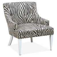 Jonathan Adler Haines Chair In Tanzania Indigo in All Furniture